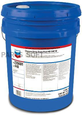 CHEVRON DRIVE TRAIN FLUID HD 50 18.9л