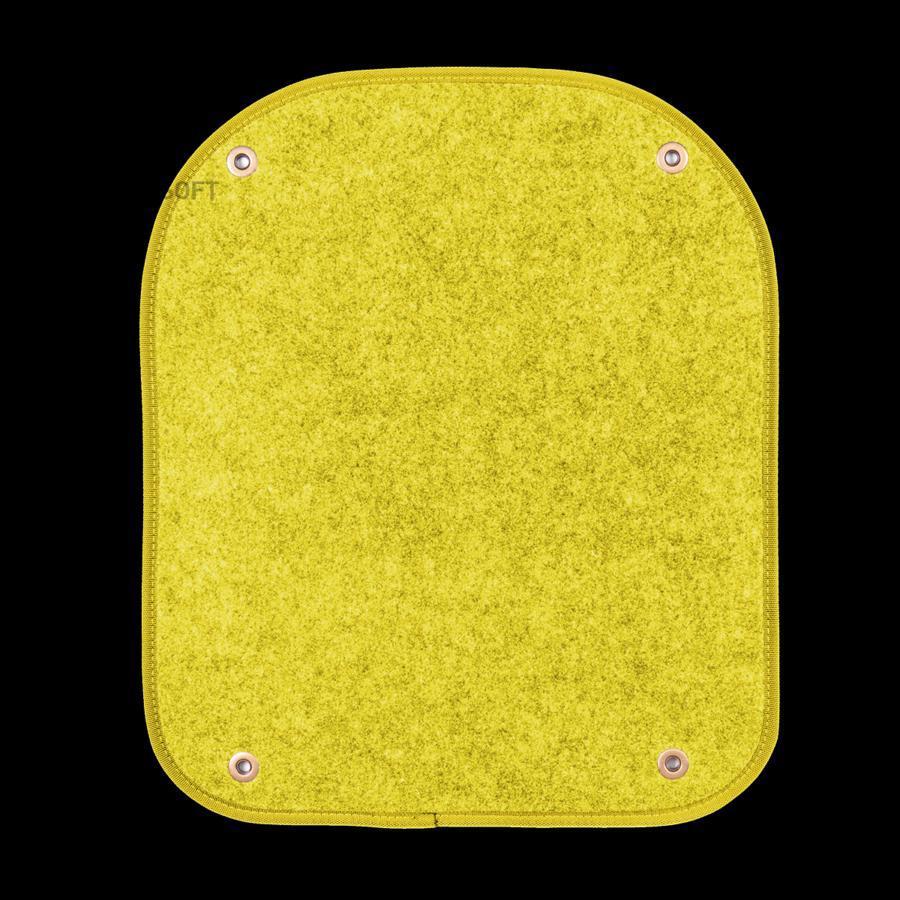 Вкладыши ковролиновые AUTOPROFI PET-500i YE