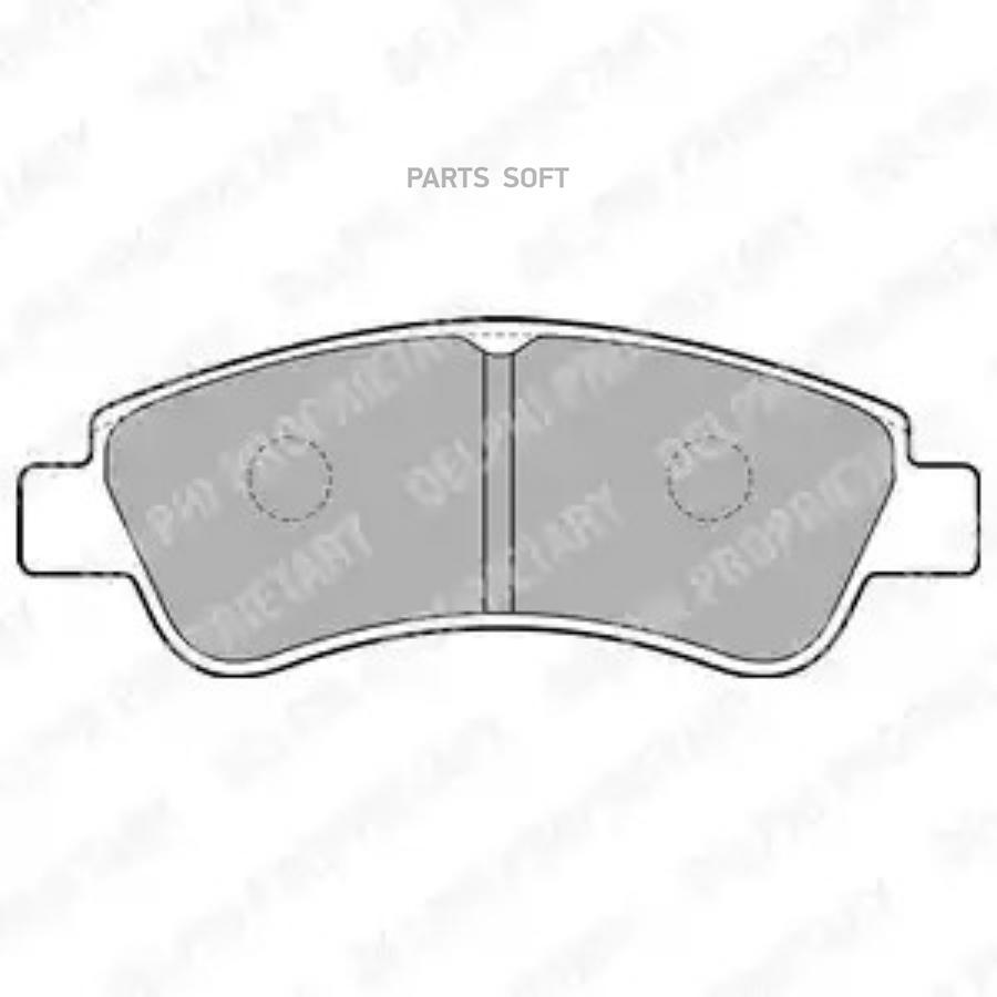 Колодки торм. перед. Citroen Berlingo (MF)/XSARA/C3/Peugeot 206,207,307/Partner