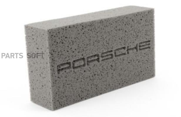 Губка для ухода за автомобилем Porsche Tequimpment Scripted Car Wash Sponge