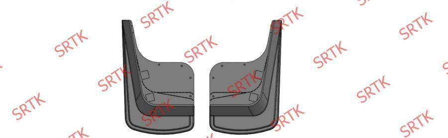 Брызговики резиновые Универсальные Передние (BRU04001)