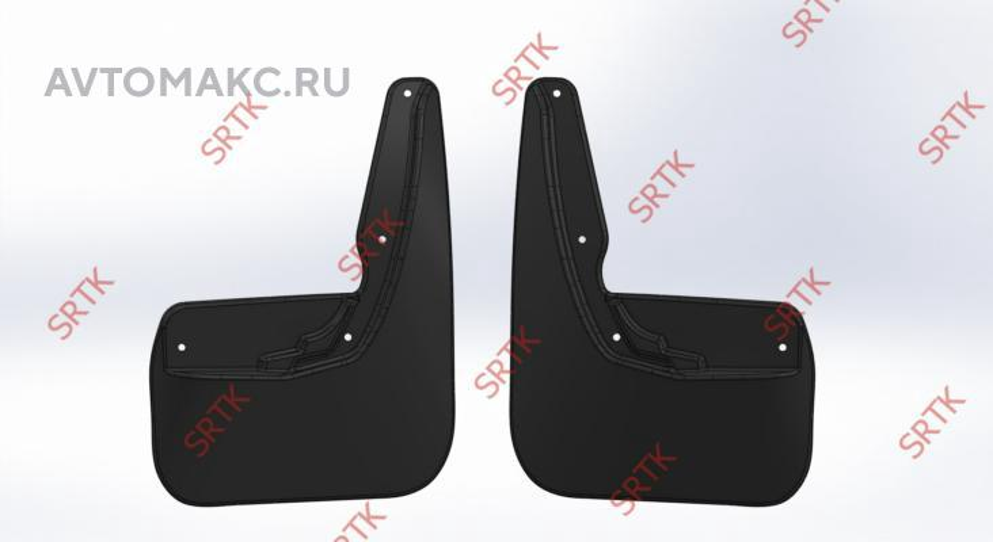 Брызговики резиновые для Lada  X-RAY (2015-) Задние (BRZLDXR15G06020)