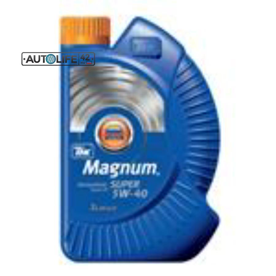 Масло моторное полусинтетическое Magnum Super 5W-40, 1л