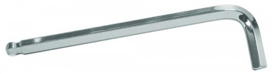 Ключ Г-образный шестигранный с шаром 6 мм.