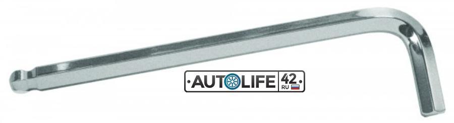 Ключ Г-образный шестигранный с шаром 7 мм.