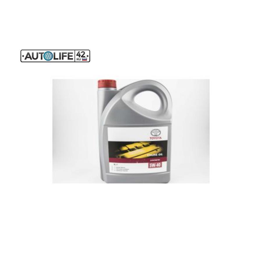 Масло моторное синтетическое ENGINE OIL 5W-40, 5л