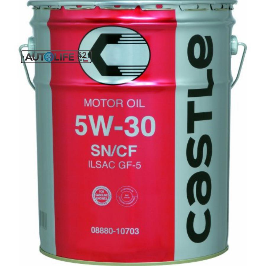 Масло моторное полусинтетическое SN 5W-30, 20л