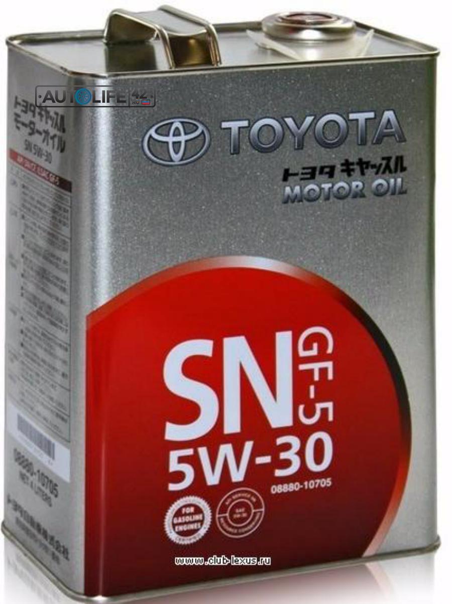 Масло моторное минеральное SN 10W-30, 4л