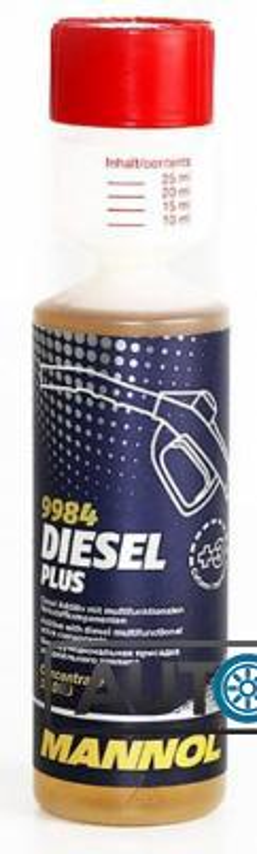 Присадка комплексная для дизельного топлива MANNOL 9984 Diesel Plus