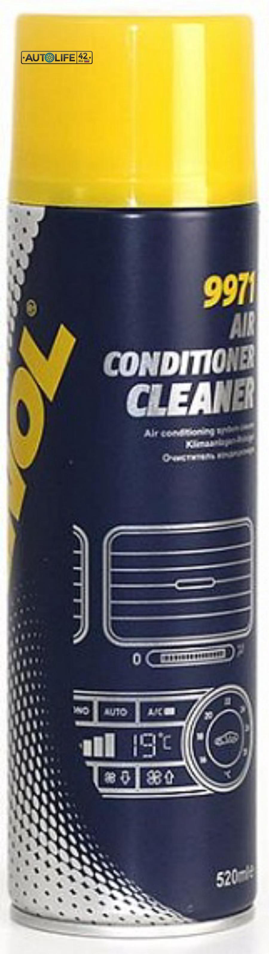 Очиститель автомобильных кондиционеров MANNOL 9971 Air Conditioner Cleaner
