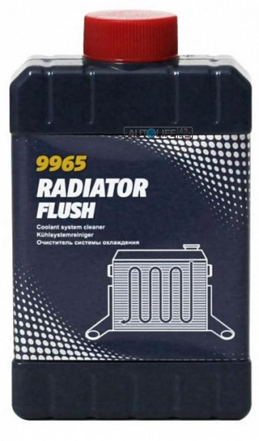 Очиститель радиатора MANNOL 9965 Radiator Flush
