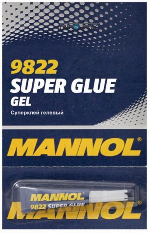 Клей гелевый MANNOL 9822 Gel Super Glue