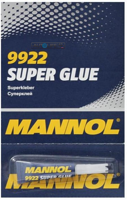 Клей MANNOL 9922 Super Glue
