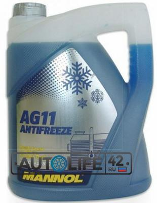 Антифриз Longterm Antifreeze AG11, 5л