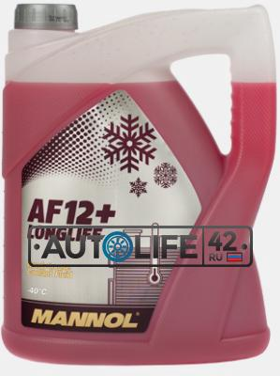 Антифриз Longlife Antifreeze AF12+, 5л