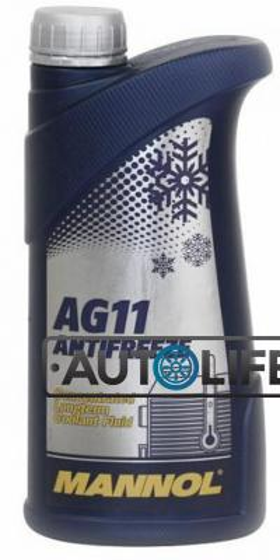 Антифриз-концентрат Longterm Antifreeze AG11, 1л