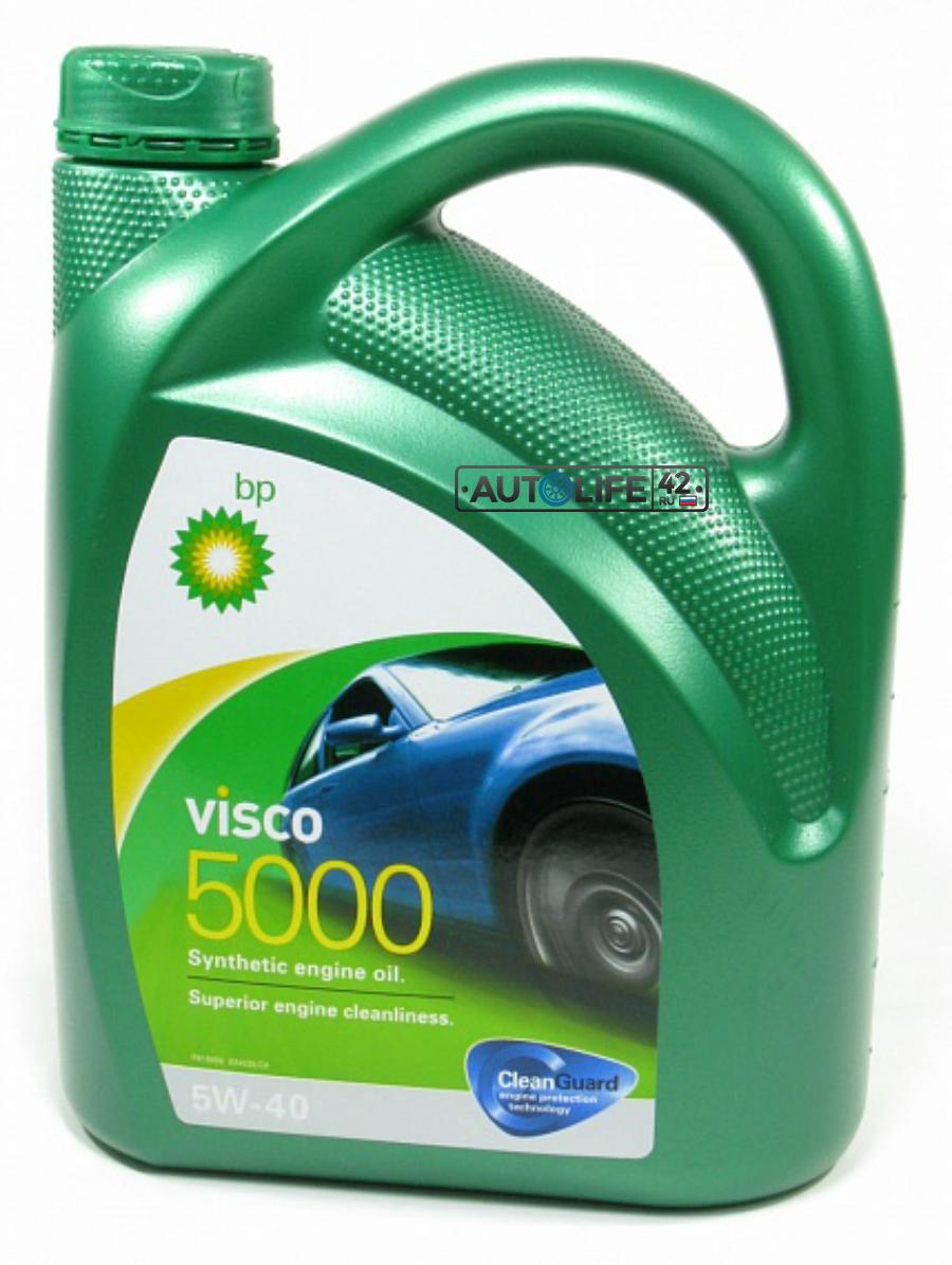 Масло моторное синтетическое Visco 5000 5W-40, 4л