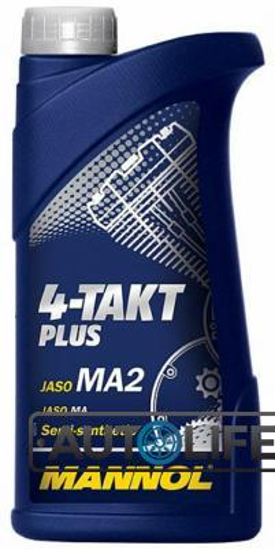 Масло моторное полусинтетическое 4-Takt Plus 10W-40, 1л