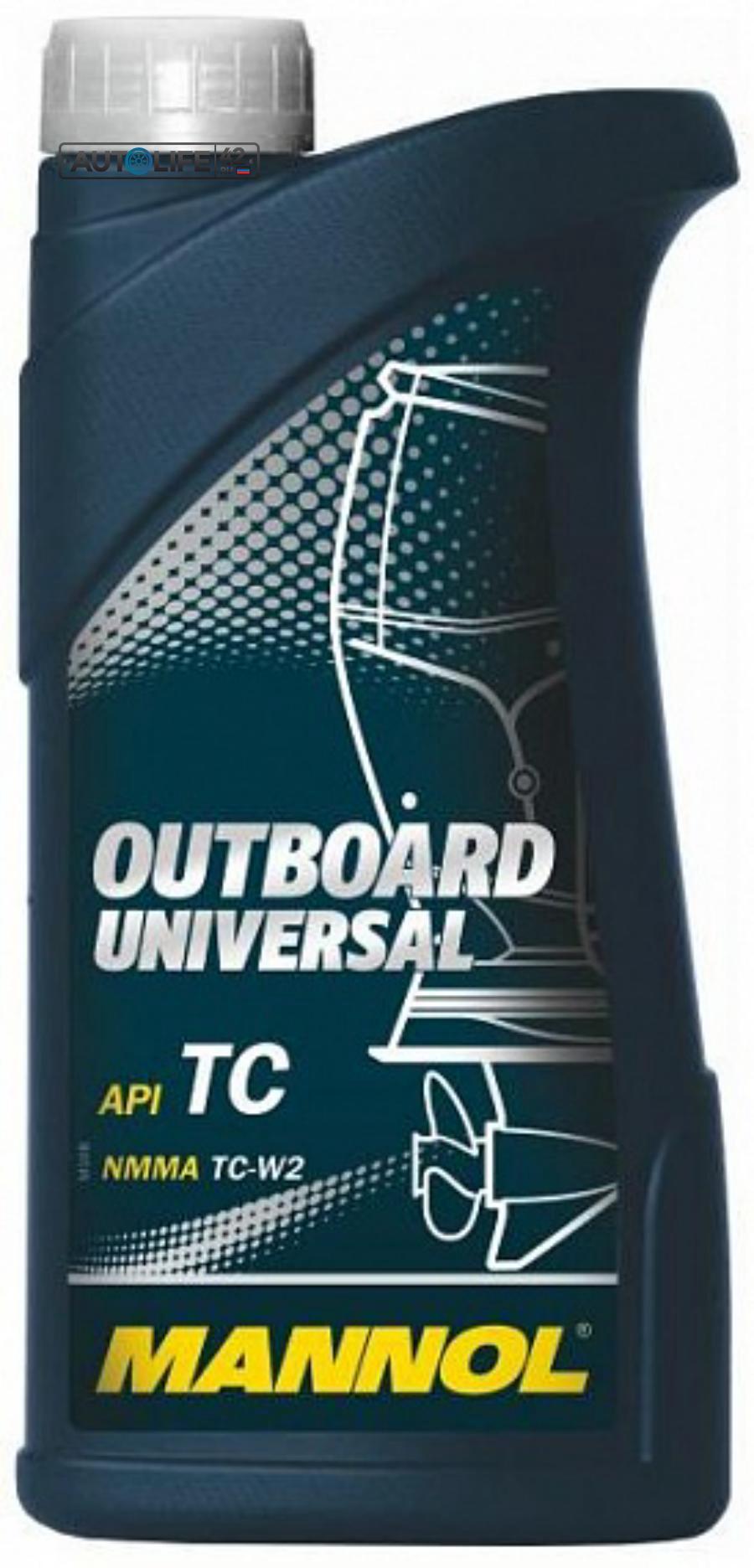 Масло моторное минеральное Outboard Universal, 1л