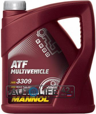 Масло  ATF Multivehicle   4L