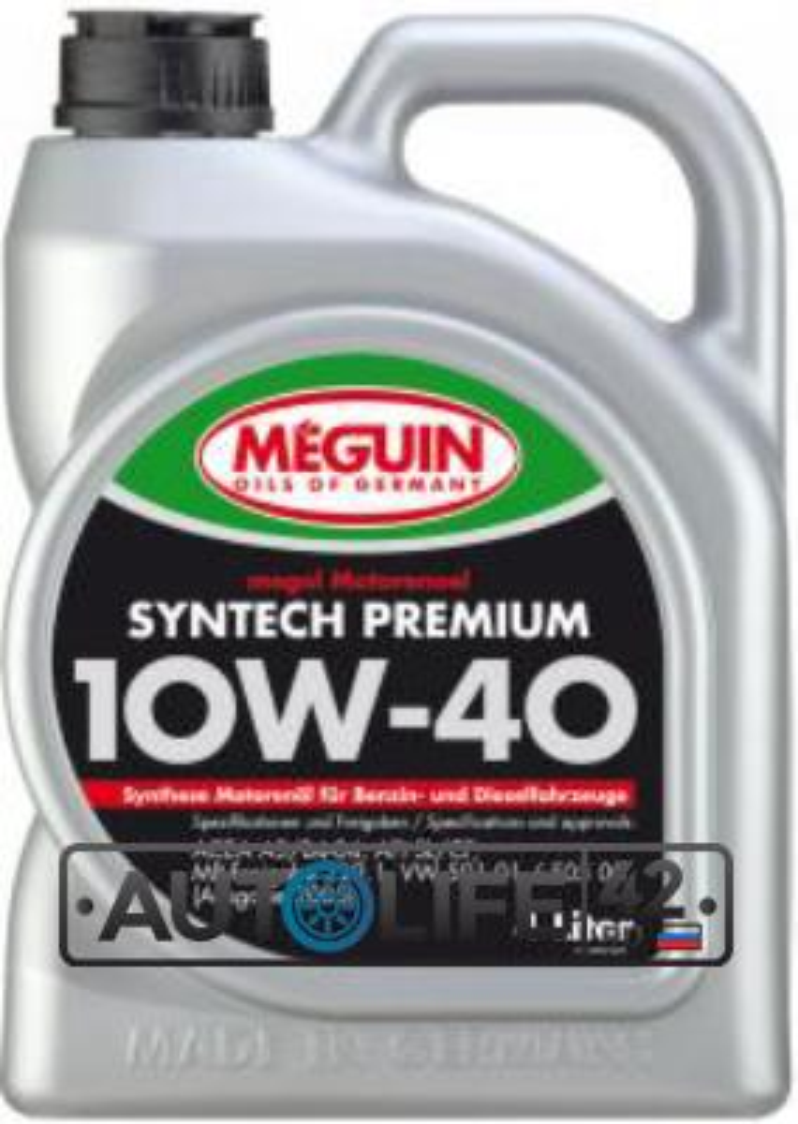 MEGUIN Syntech Premium SAE 10W-40