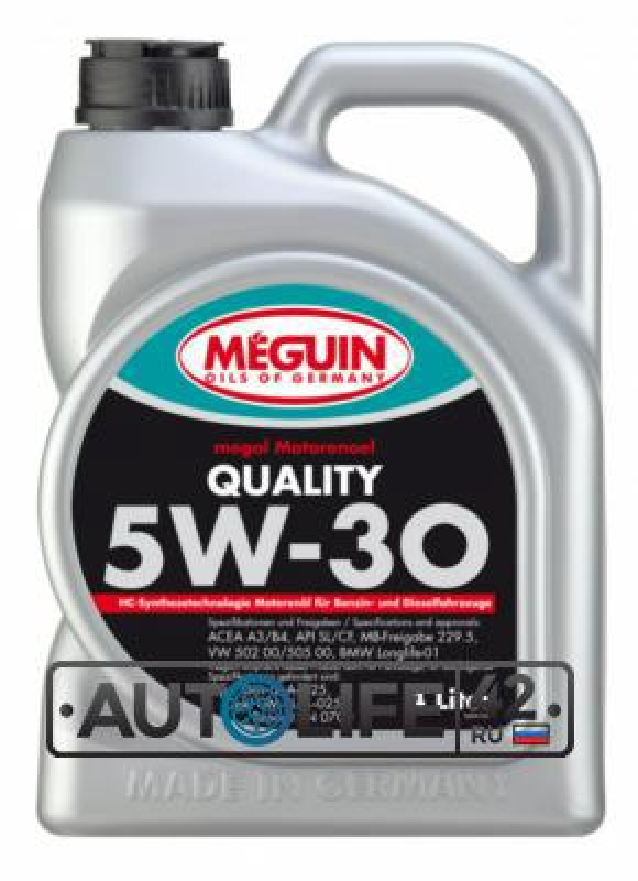 MEGUIN Motorenoel Quality SAE 5W-30