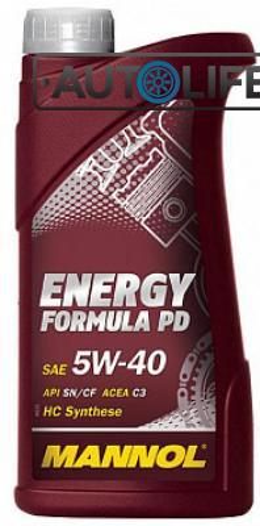 Масло  Energy Formula PD 5W-40 API SN/SM/CF 1L (MN7913-1)