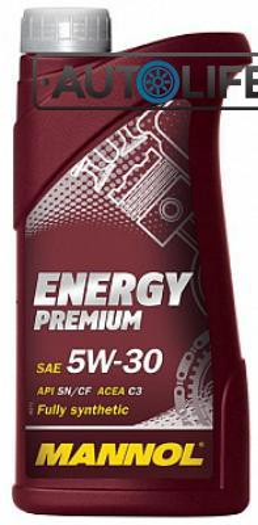 Масло моторное синтетическое Energy Premium 5W-30, 1л
