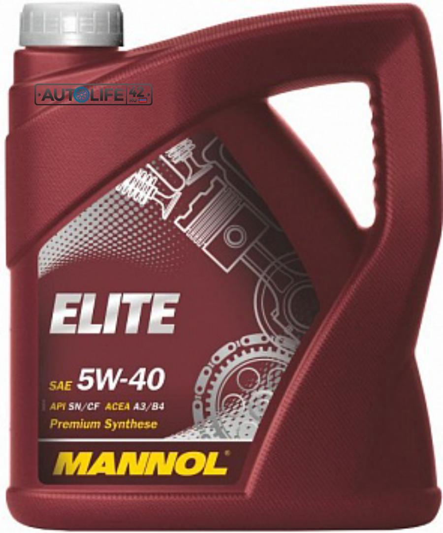 Масло моторное синтетическое ELITE 5W-40, 4л