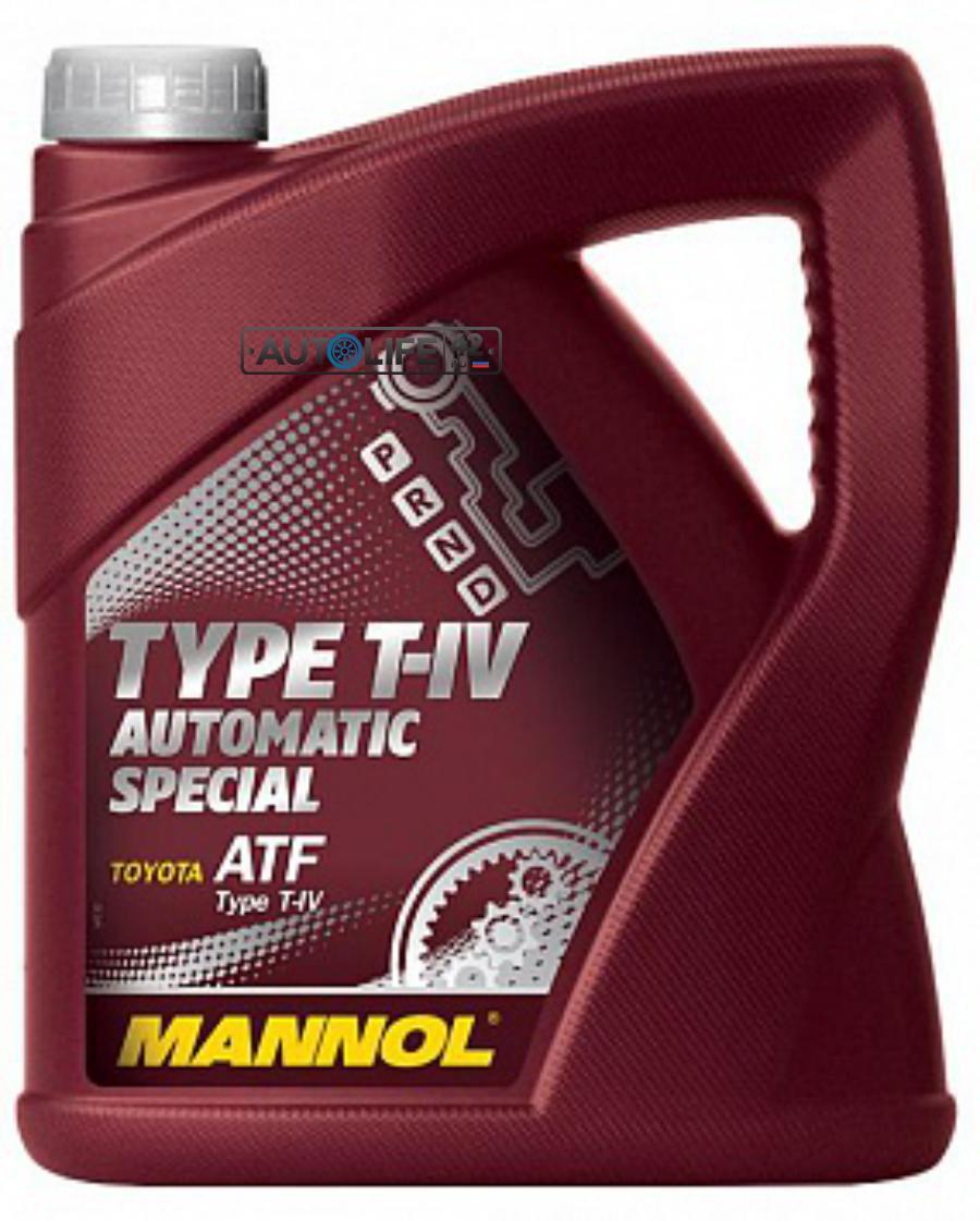 Масло трансмиссионное синтетическое 8208 O,E,M, for Toyota Lexus ATF T-IV, 4л