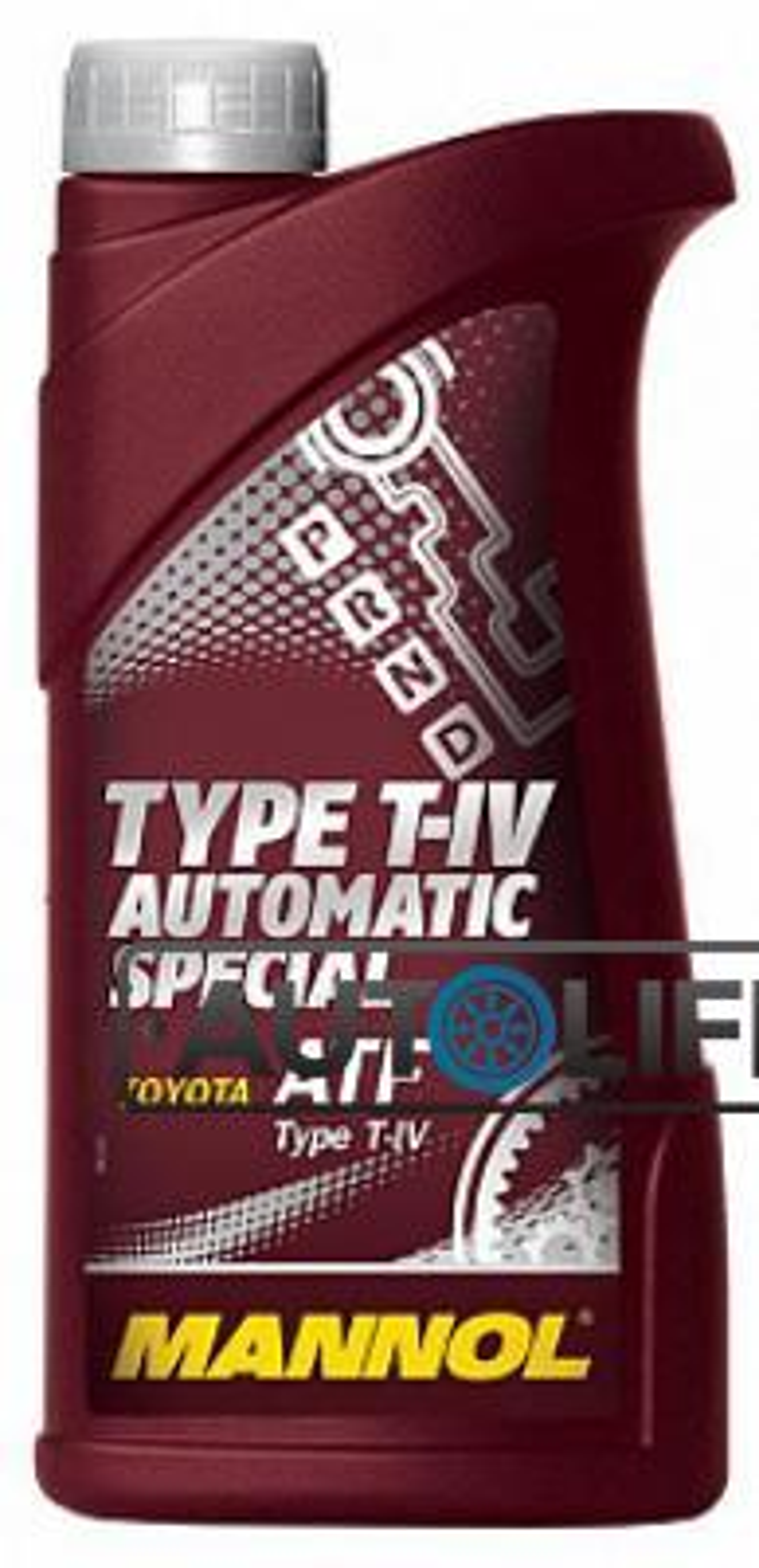 Масло трансмиссионное синтетическое 8208 O,E,M, for Toyota Lexus ATF T-IV, 1л