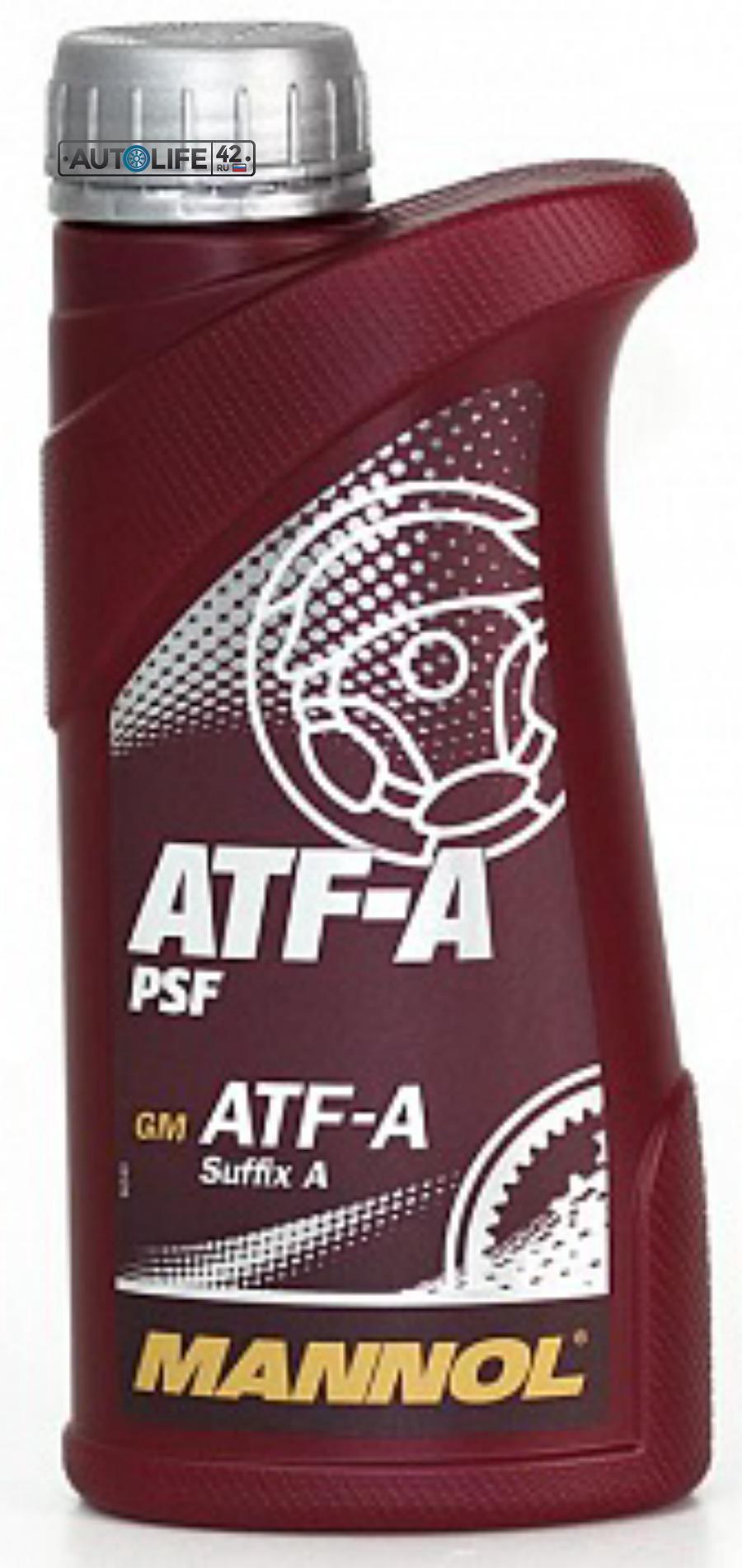 Масло трансмиссионное ATF-A PSF, 1л