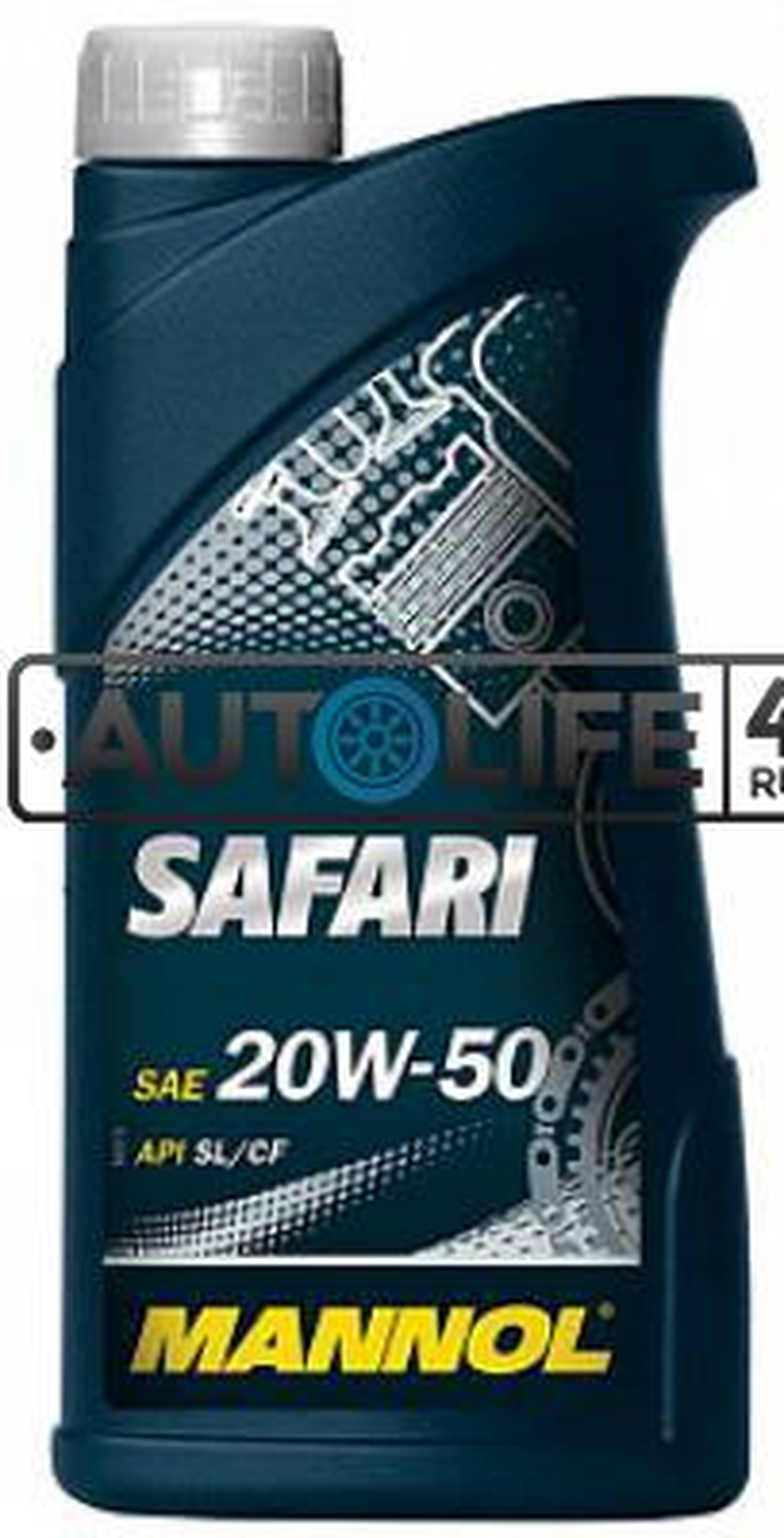 Масло моторное минеральное SAFARI 20W-50, 1л