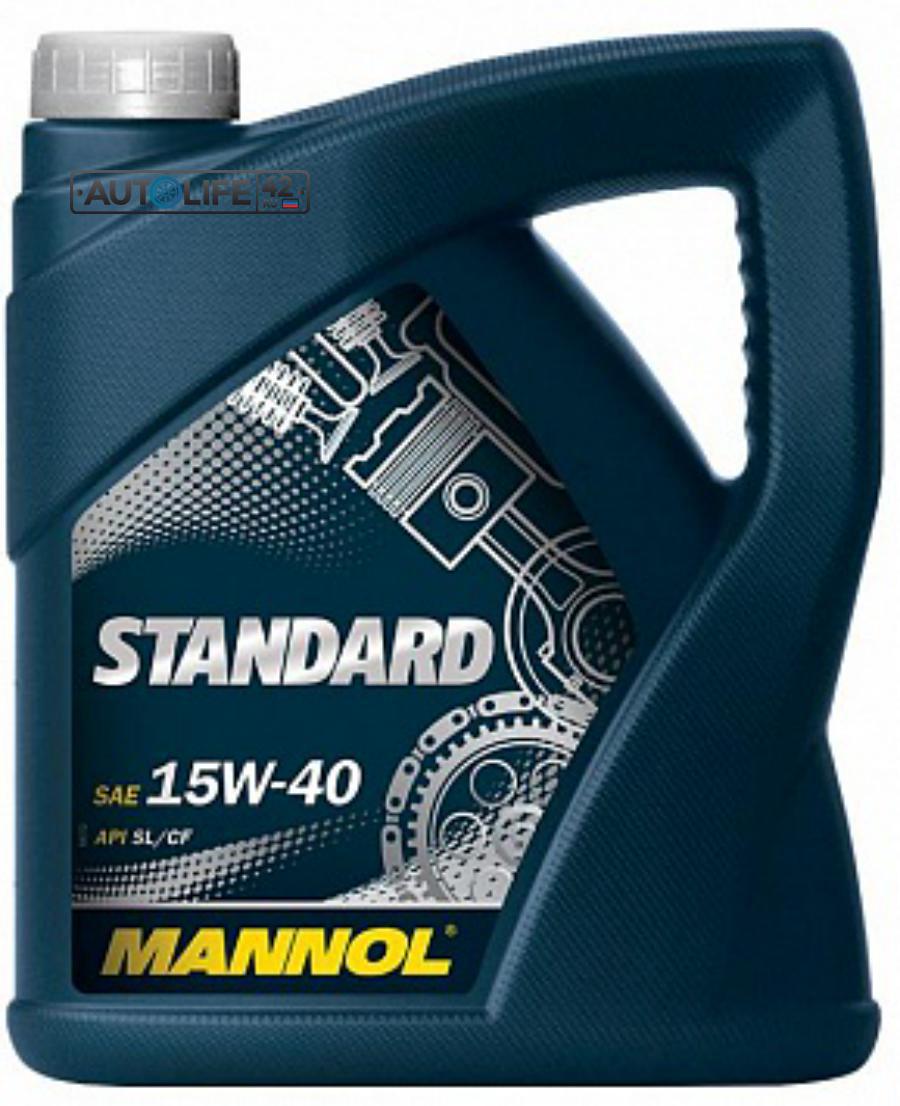 Масло  Standard 15W-40 API SL/CF 4L (MN7403-4)