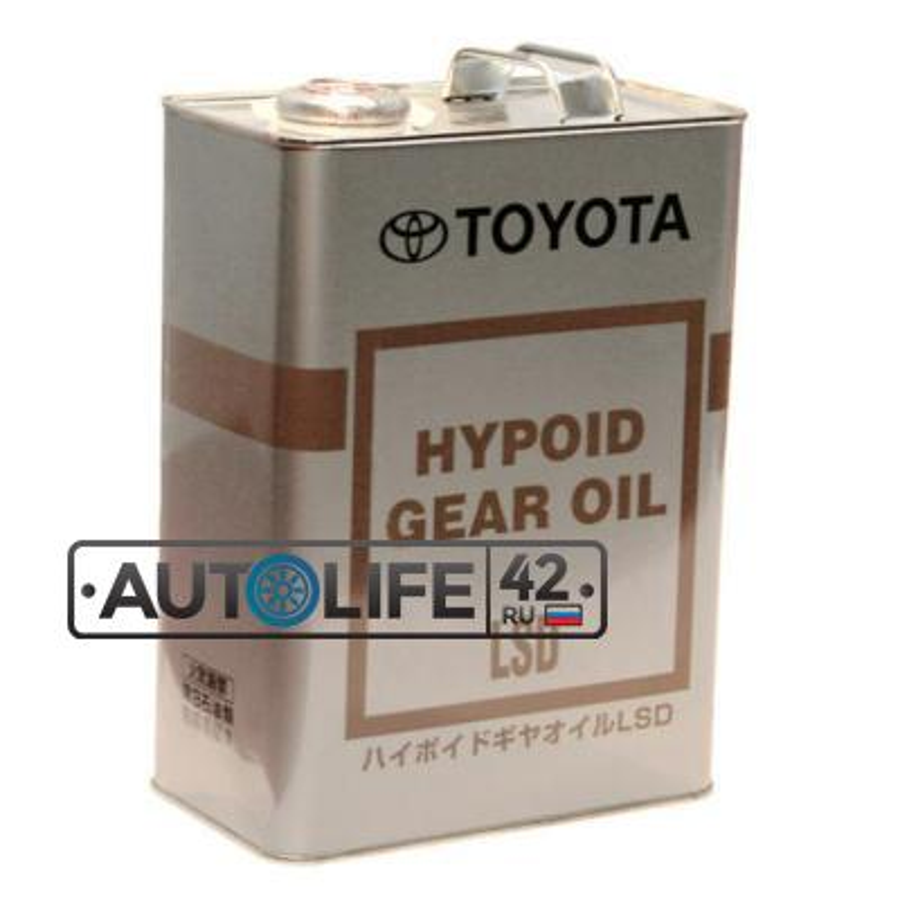 Масло трансмиссионное Hypoid Gear Oil LSD 85W-90, 4л