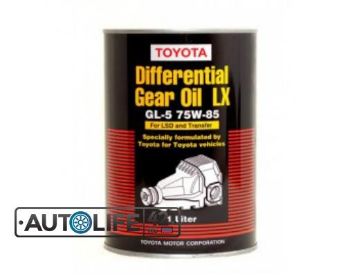 МАСЛО ТРАНСМ. TOYOTA DIFFERENTIAL GEAR OIL LX GL-5