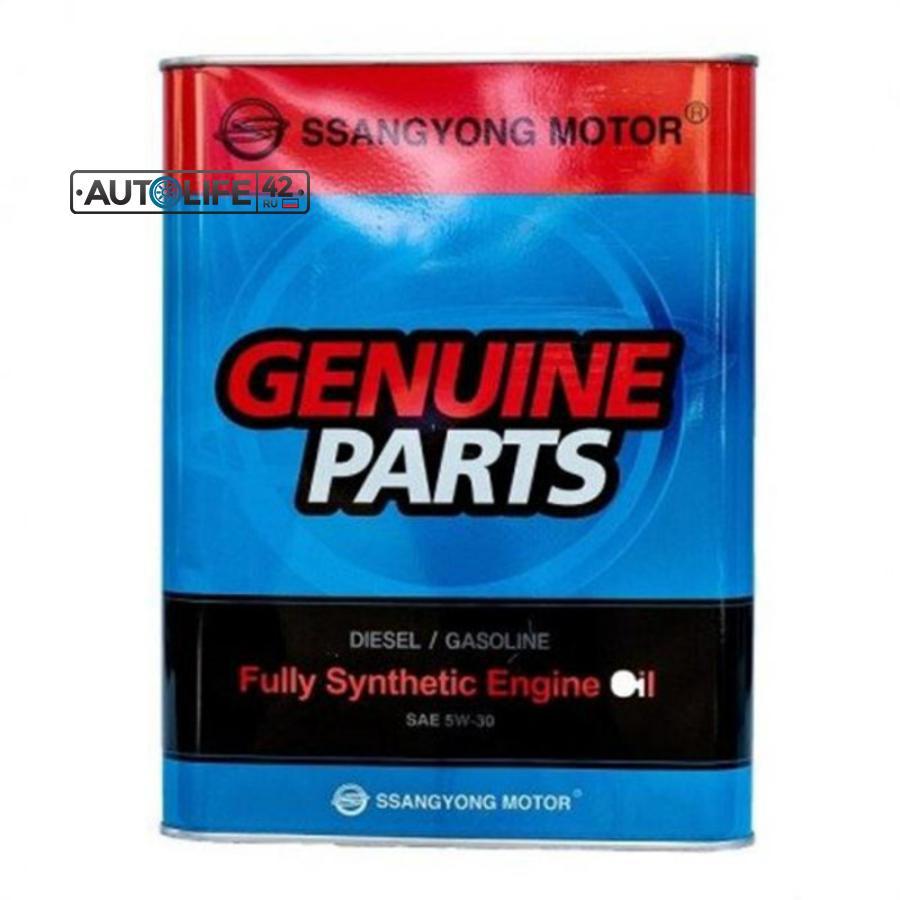 Масло моторное синтетическое Diesel/Gasoline 5W-30, 4л