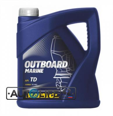 Масло моторное Outboard Marine, 4л