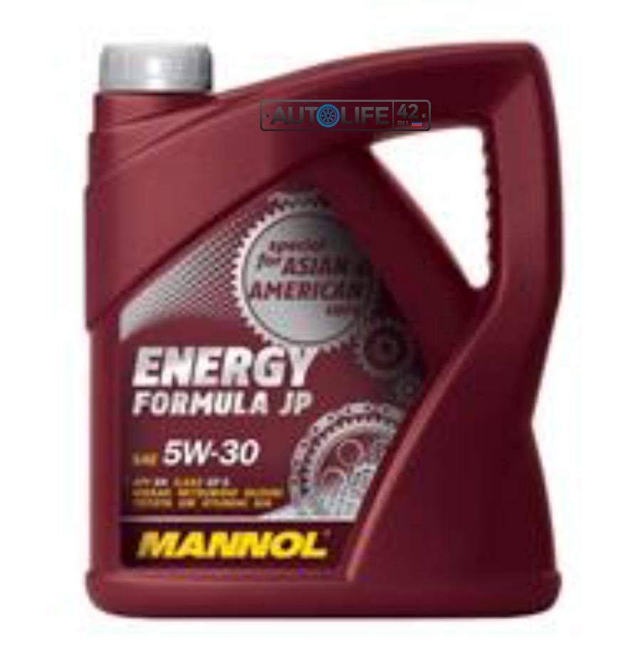 Моторное масло Energy Formula JP