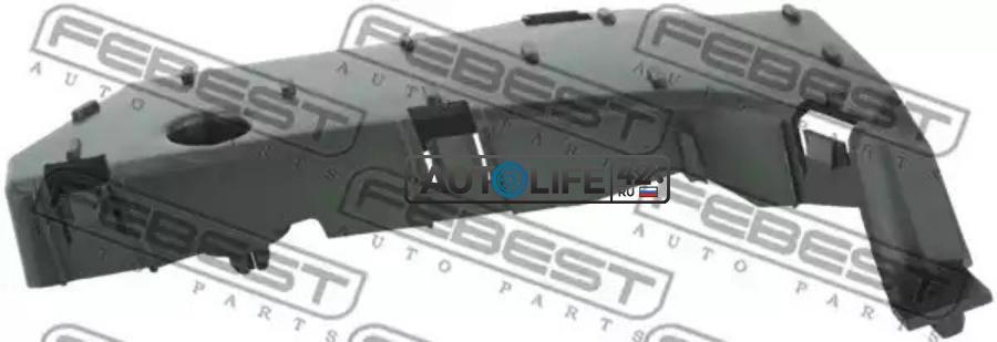 Кронштейн крепления бампера переднего левый