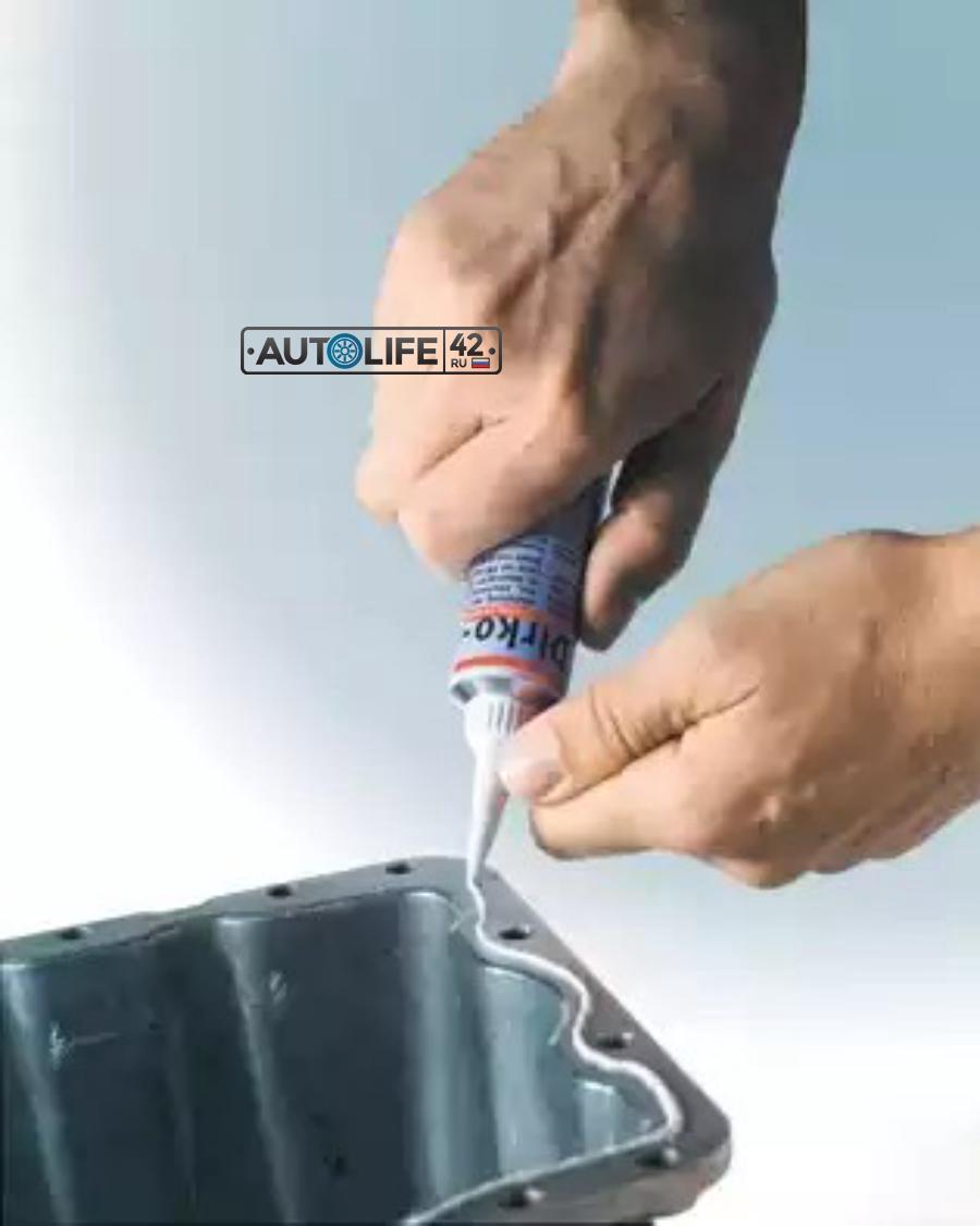 Прокладка, маслянный поддон; Прокладка, крышка картера (блок-картер двигателя)