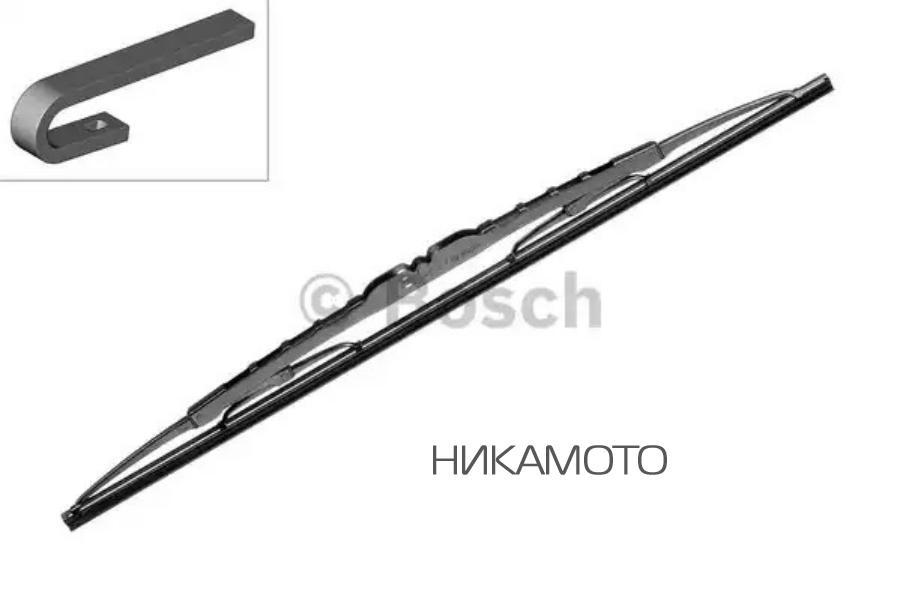 Щетка стеклоочистителя бескаркасная 530mm, Pilenga