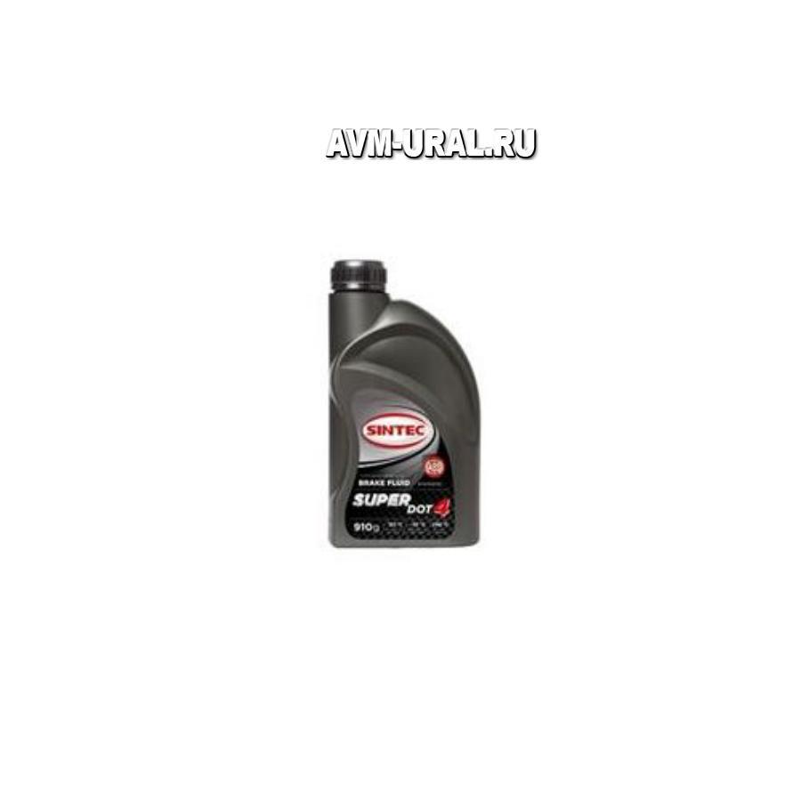 Жидкость тормозная DOT 4, 'SUPER', '0,91л
