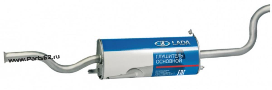 Резонатор ВАЗ 11180, 2190 с гофрой Евро-3/4. 2190,