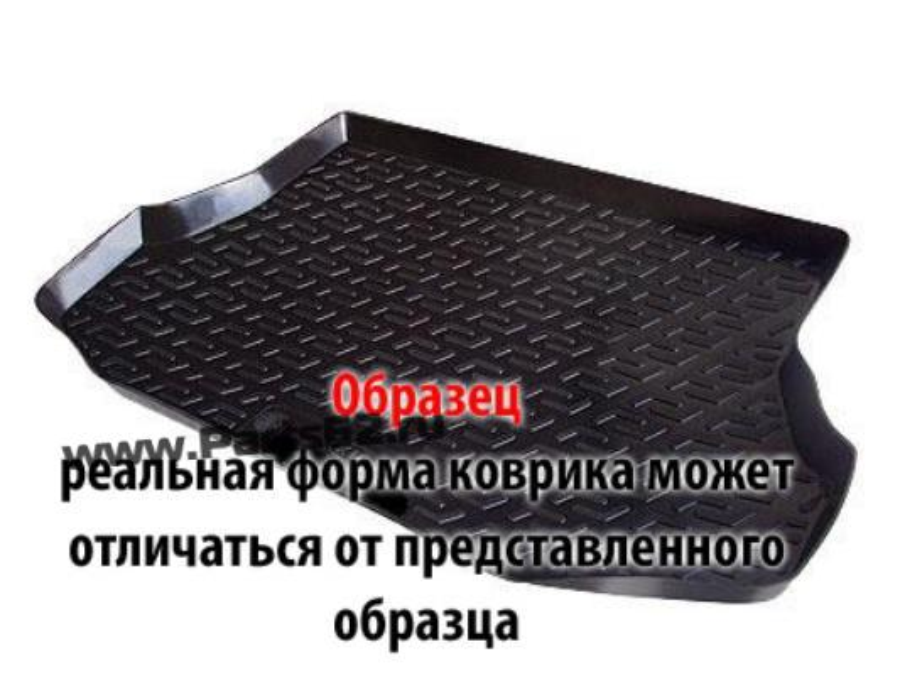 Коврик в багажник CHEVROLET Captiva 06/2006-2011, кросс. полиуретан