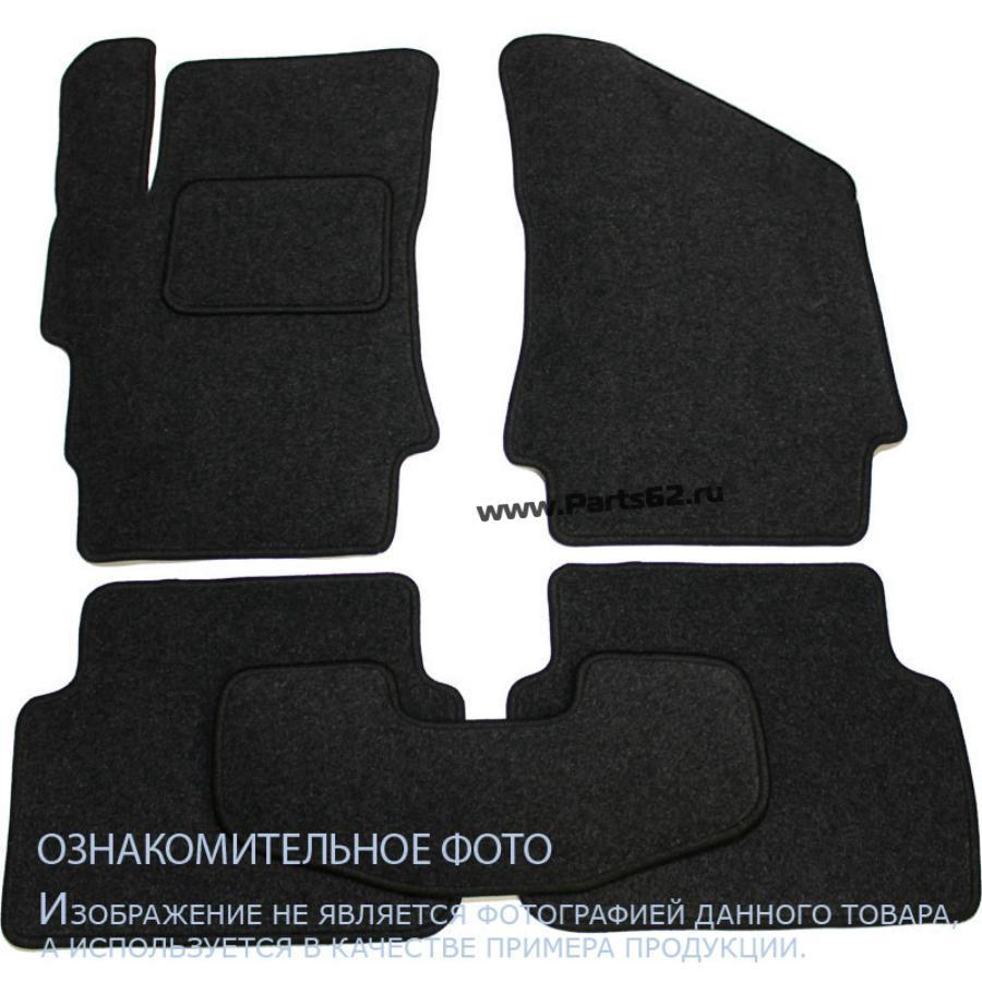 Коврики в салон MITSUBISHI Colt VII 5D АКПП 2003-, хб., 5 шт. текстиль, бежевые