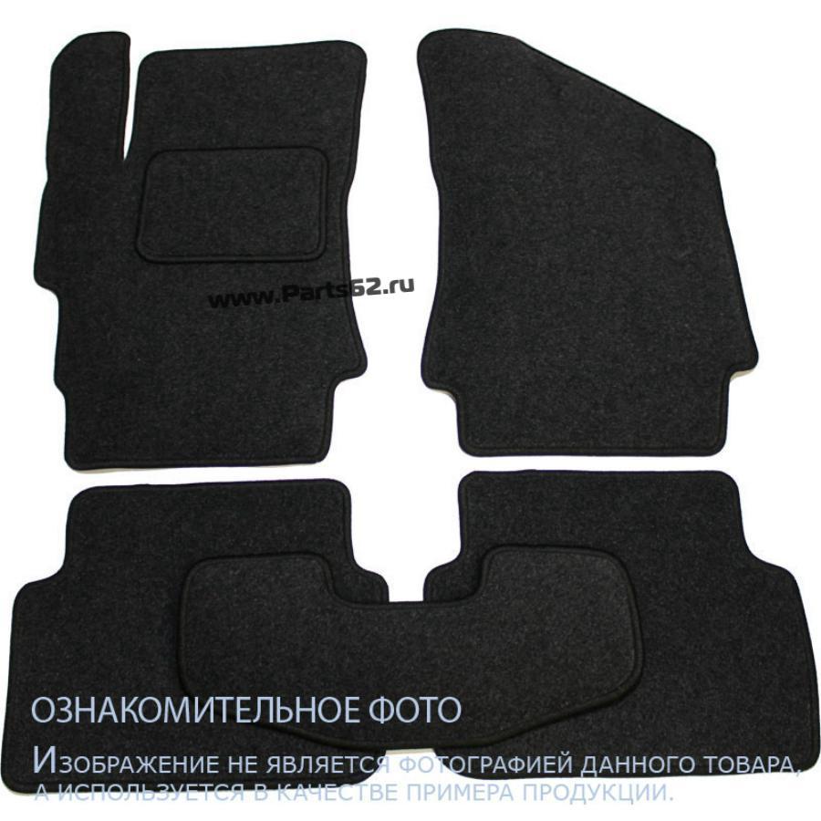 Коврики в салон MITSUBISHI Outlander XL 2010-, внед., 5 шт. текстиль, серые