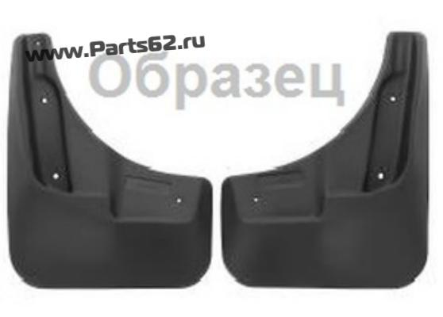 Брызговики передние GEELY Emgrand X7, 2013- вн. 2 шт. полиуретан