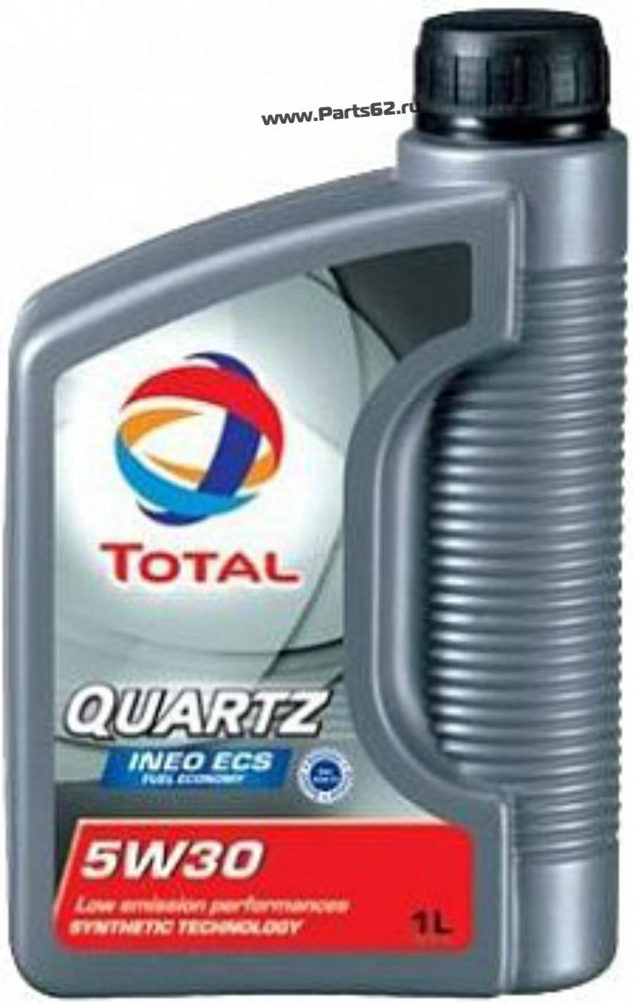 Масло моторное синтетическое QUARTZ INEO ECS 5W-30, 1л