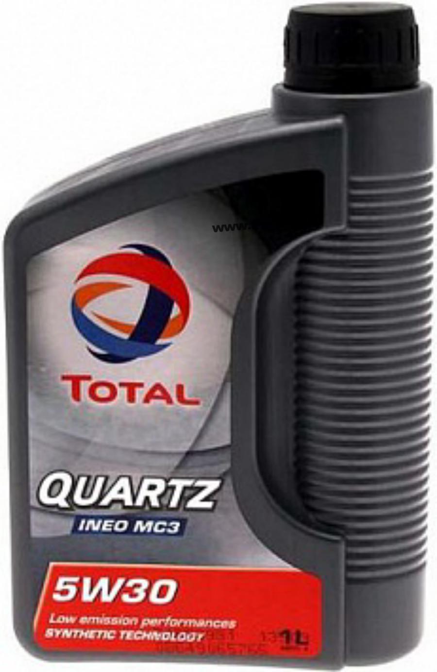 Масло моторное синтетическое QUARTZ INEO MC3 5W-30, 1л